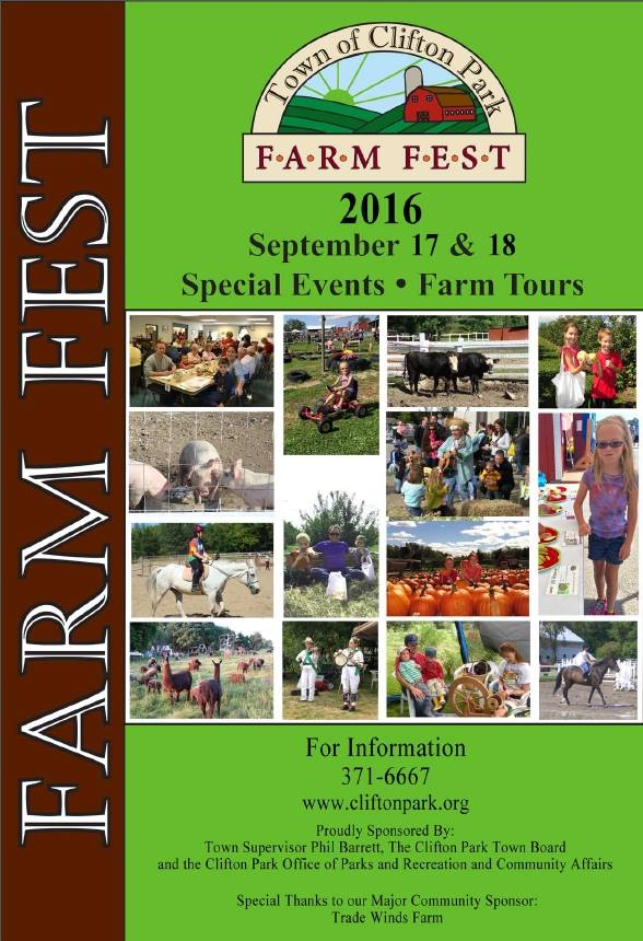 Clifton Park's 24th Farm Fest is this Weekend