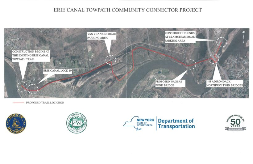 Trail Construction Underway in Vischer Ferry Nature & Historic Preserve