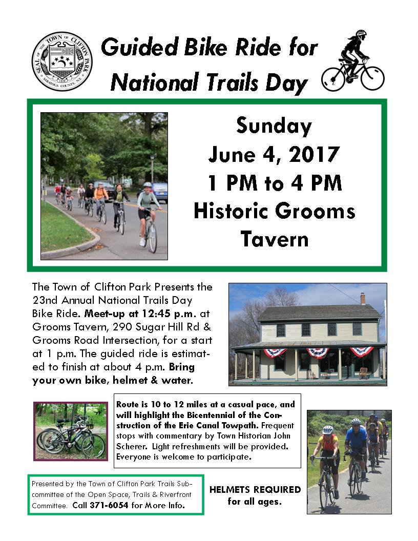Bike the Bicentennial Canal! June 4, 2017!